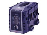 IDX VL-4S Multi-format 4-Channel Simultaneous V-Mount Li-Ion Fast Charger