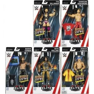 WWE Elite Figures for Sale - Braun Shinsuke Hardys Tye