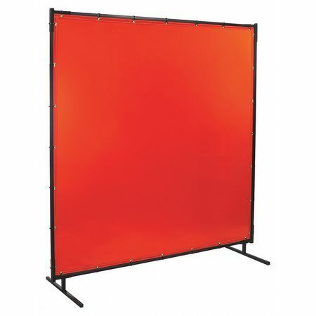 STEINER 538-4X6 Protect-O-Screens (R) 6 ft. Wx4 ft., Orange