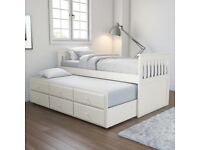 URGENT-IKEA Single-Double Day bed\Guest bed & Double loft bed For sale Like BRAND NEW- CHEAP