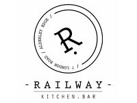 Bartender for railway Kitchen and Bar