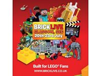 BRICKLIVE GLASGOW - THE UK'S BIGGEST LEGO FAN CONVENTION