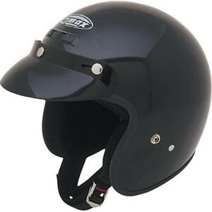 Retro Open Face / 3 Quarter DOT Helmets
