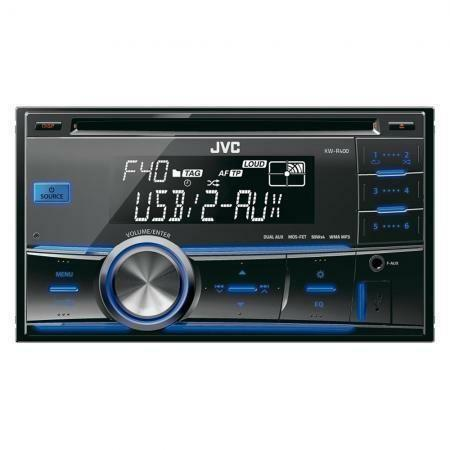 autoradio doppel din jvc ebay. Black Bedroom Furniture Sets. Home Design Ideas