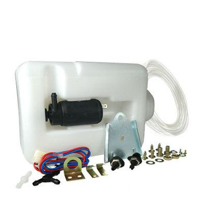 TVR ACP 1.2 Ltr Universal 12v Window Washer Bottle + Pump Kit 'Trade' New XE9