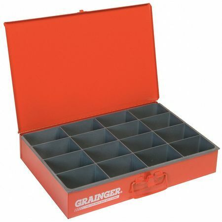 Durham Mfg 113-17-S1158 Steel Compartment Box Red