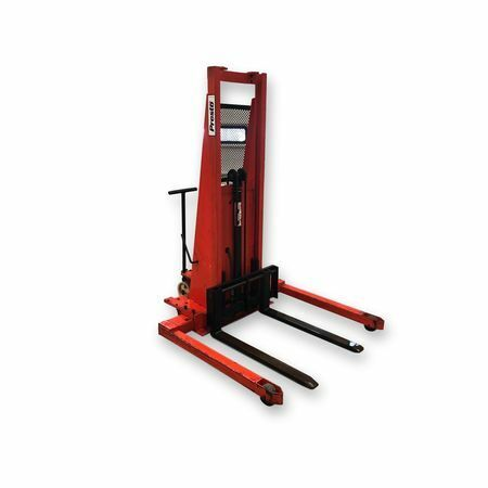 Used 2,000 Lb Capacity Prestolifts Model Psa Straddle Stackers