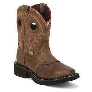 NEW Justin Gypsy Boots - Leather - Size 9.5 Women