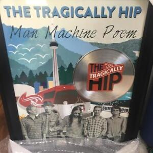 Tragically hip collector poster. Brand new.