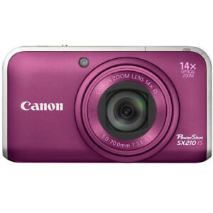 Canon PowerShot SX210 IS 14.1MP Digital Camera