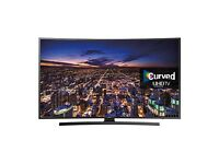 """Samsung 55"""" curved smart 4k UltraHD Apps warranty Free Delivery"""
