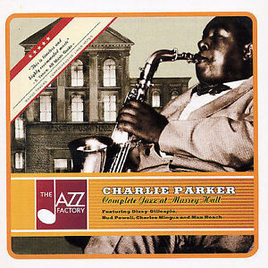 Charlie Parker - Complete Jazz at Massey Hall (NEW CD, 2003, Jazz Factory)