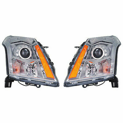 FOR CADILLAC SRX 2010 2011 2012 2013 HEADLIGHT HALOGEN ONLY!!! RIGHT & LEFT PAIR