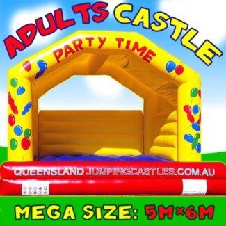 $ 199 = HALF DAY ADULT CASTLE HIRE Brisbane CBD Free Delivery* Eagle Farm Brisbane North East Preview
