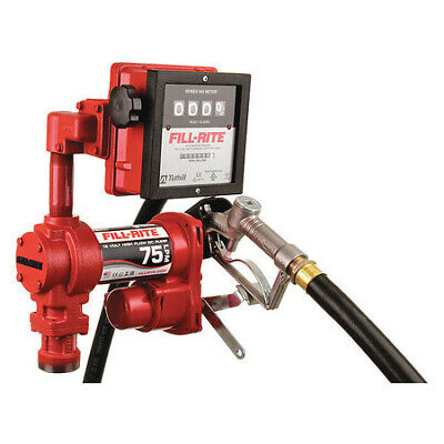 Fill-rite Fr4211hl Fuel Transfer Pump 12vdc 20 Gpm 14 Hp Cast Iron 1