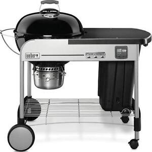 Weber 22-inch Performer Premium Charcoal BBQ in Black