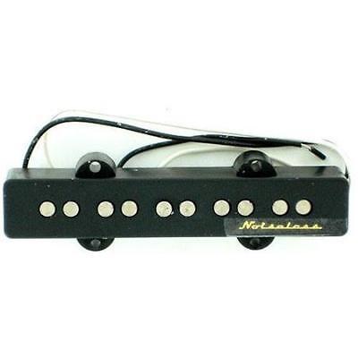 Genuine Fender 5-String Noiseless Jazz/J-Bass Bridge Pickup - Black 5 String Jazz Pickup