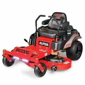 "*** 2017 BIGDOG Alpha ZeroTurn Mower 52"" ***"
