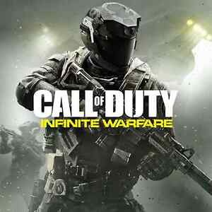 call of duty infinite warfare --- ps4