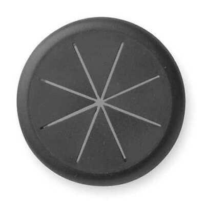 MASTER CASTER 00209 Flexible Grommet,Desk,2-3/8 In Dia,Blk Master Caster Grommet