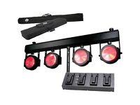 Brand new ADJ Dotz TPAR System LED Par T-Bar Light Rail 1223200031