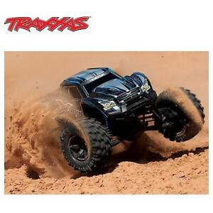 OB TRAXXAS ELECTRIC MONSTER TRUCK 77086-4 Blue 197482782 8S X-Maxx 4WD Brushless OPEN BOX