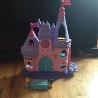 Fisher price little people disney princess songs palace