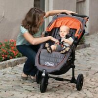 Baby Jogger 2012 City Mini GT Single w/ tray Colour: SHDW/OR