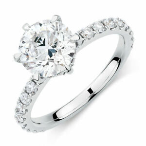Engagement Ring With 1.42 Carat TW Of Diamonds In 14ct