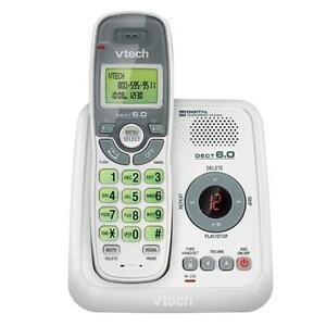 VTECH CS6124 DECT 6.0 EXP.CLS PHONE- CID/ANS (WHITE)