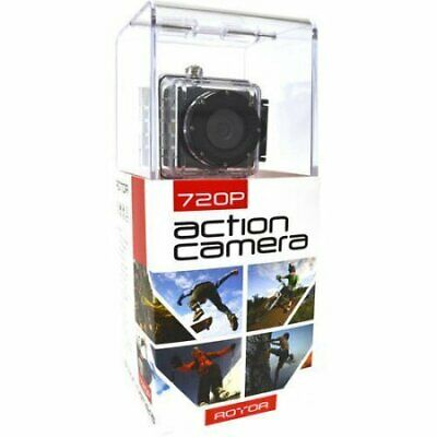 Rotor Sports Action Camera 720P w/Wide Angle Lens, Built-in Microphone and...