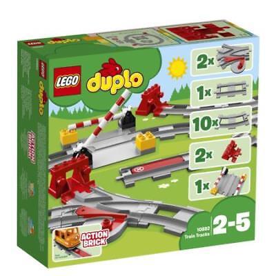 LEGO DUPLO Train Tracks 10882 Building Blocks (23 Piece)