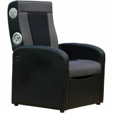 Foldable Storage X Rocker Gaming Chair Flip Speakers Video G