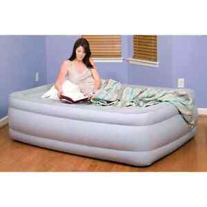 NEW QUEEN Size Air Bed with Outdoor Compatible Windsor Region Ontario image 1