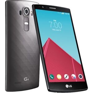 LG G4 Rogers/Fido/Charr 32GB in Excellent condition.