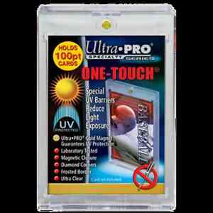 Ultra Pro 100pt One Touch Trading Cards Magnetic Closure Kitchener / Waterloo Kitchener Area image 1