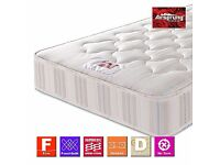 BRAND NEW AIRSPRUNG SMALL DOUBLE MATTRESS 3/4 SIZE 4FT WIDE - RRP £250 - CAN DELIVER