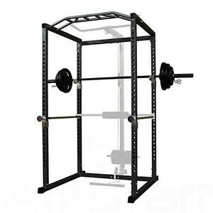AmStaff TP006D Power Squat Rack Training System Cage - Brand New
