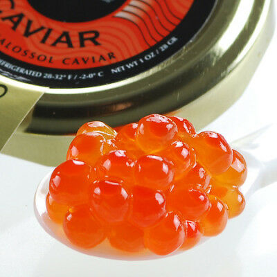 - American Salmon Roe Pink Caviar Wild Caught - 4 oz