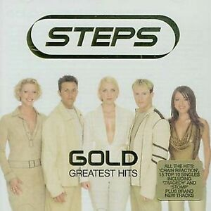Gold-Greatest-Hits-by-Steps-CD-Oct-2001-Jive-USA