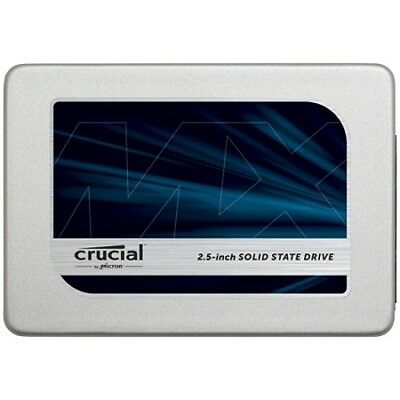 "Crucial MX300 2.5"" 525GB SATA III 3D NAND Internal Solid State Drive (SSD) {New}"