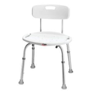 Carex Bath and Shower Seat with comfort back