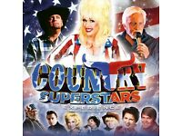 COUNTRY SUPERSTARS EXPERIENCE THEATRE SHOW, NEON THEATRE, NEWPORT, S.WALES