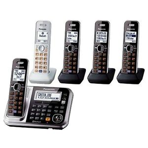 Panasonic (5 Portable Phones with Answering Machine)