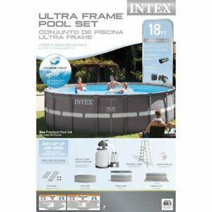 Kit Piscine Intex 18 pieds x 52 neuve, dans sa boite - 700$