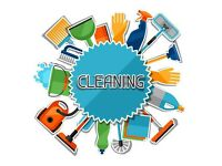 Cleaning houses and flats