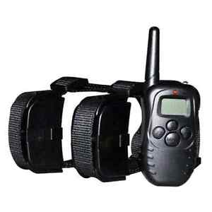 REMOTE TRAINING COLLAR with 300M RANGE EQUIPPED - 2 DOGS SET Camden Park West Torrens Area Preview