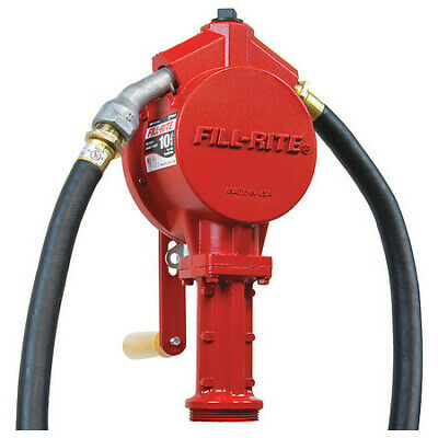 Fill-rite Fr112a Hand Drum Pumprotary 34in Fnpt