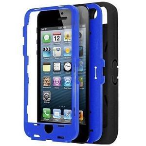 Xtreme Survival Case for iPhone 5 - Blue - 50453