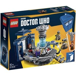 LEGO  BBC Doctor Who TARDIS (21304) Building Set RETIRED New !!